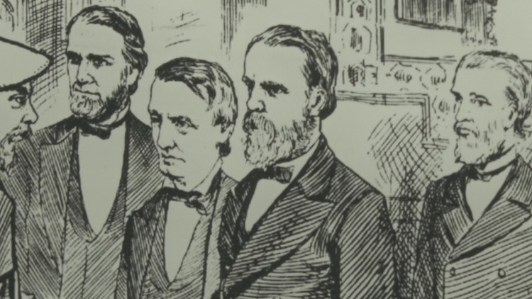 President Rutherford B. Hayes played a role in helping fugitive slaves find freedom