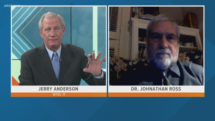 March 22, 2020: Leading Edge with Jerry Anderson — President of the Lucas Co. Health District Dr. Jonathan Ross | Part 1
