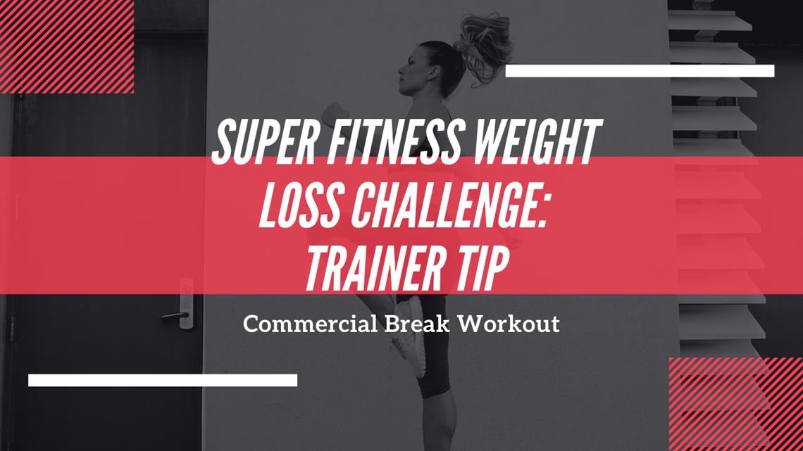 Trainer Tip: Commercial break workout