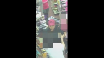 TPD attempting to identify woman wanted for robbery at the Manhattan Beauty Supply
