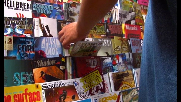 $1,400 in comic books stolen from Sylvania Township store returned