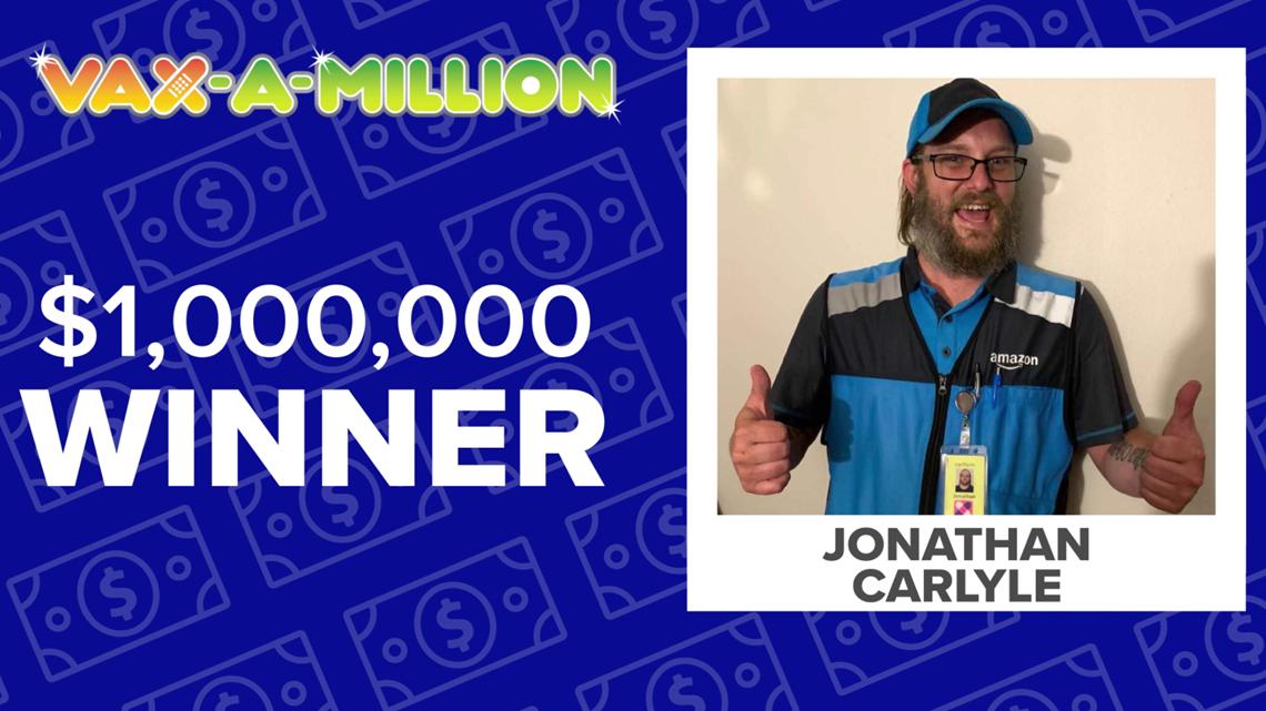 Toledoan wins $1M prize in Ohio's Vax-a-Million drawing
