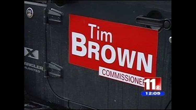 Brown announces bid for re-election of Wood County commissioner