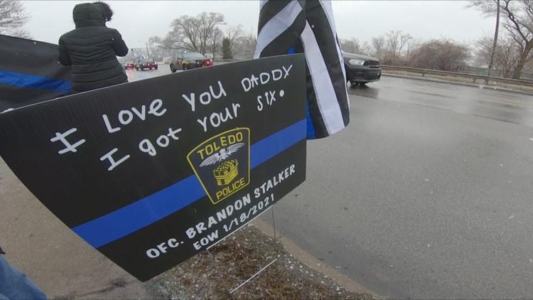 'We've got your six' | A tribute to Officer Brandon Stalker