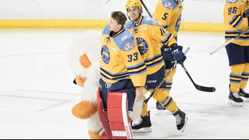 Battle of the Badges, Teddy Bear Toss to heat up the Huntington Center this Saturday