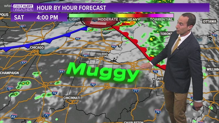 First Alert forecast: Weekend to see slightly higher humidity as warm front comes through; last 9 p.m. sunset is tonight