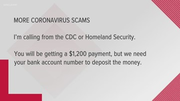 BBB: Watch out for coronavirus scams