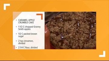 Your Day Recipes: Caramel Apple Crumb Cake