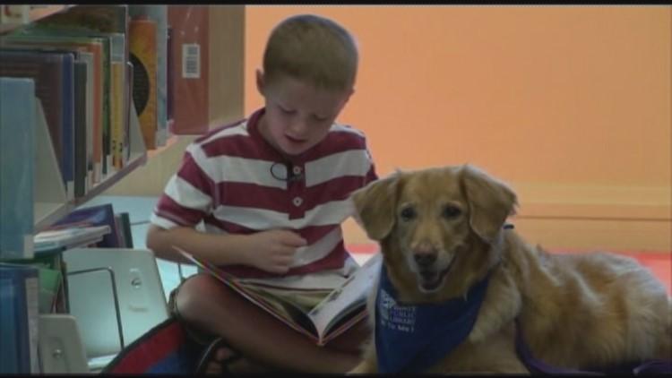 Sit, Stay, Read Program Toledo Library