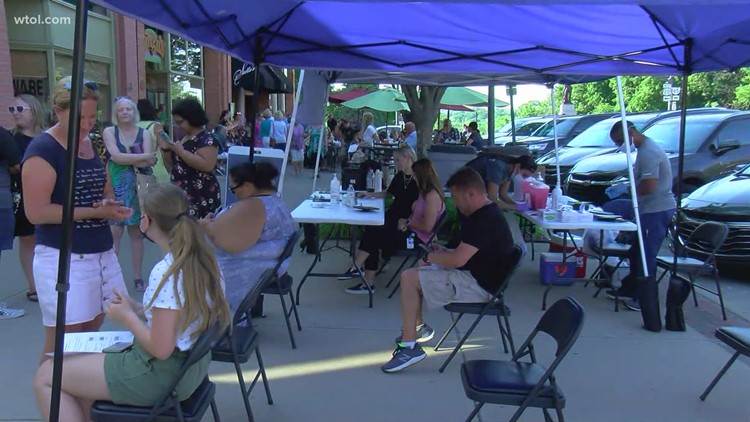 Perrysburg Farmers Market  offering weekly walk-up COVID-19 vaccination clinics