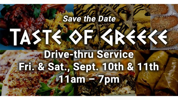 'Taste of Greece' will take place of Greek Festival this weekend