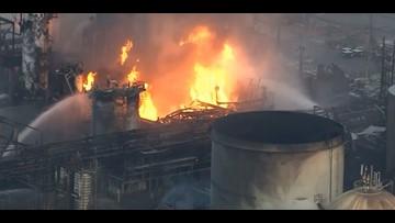Fire breaks out at crude oil refinery in Philadelphia