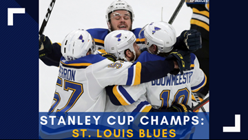 Arch Madness: Blues win 1st Stanley Cup, beating Bruins 4-1