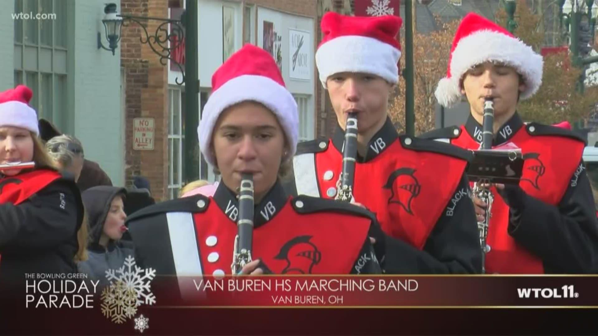 Bowling Green Ohio Christmas Parade 2020 Bowling Green Holiday Parade   Van Buren High School marching band