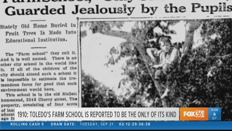Toledo's one-of-a-kind farm schools and electric cars | Today in Toledo History Sept. 22