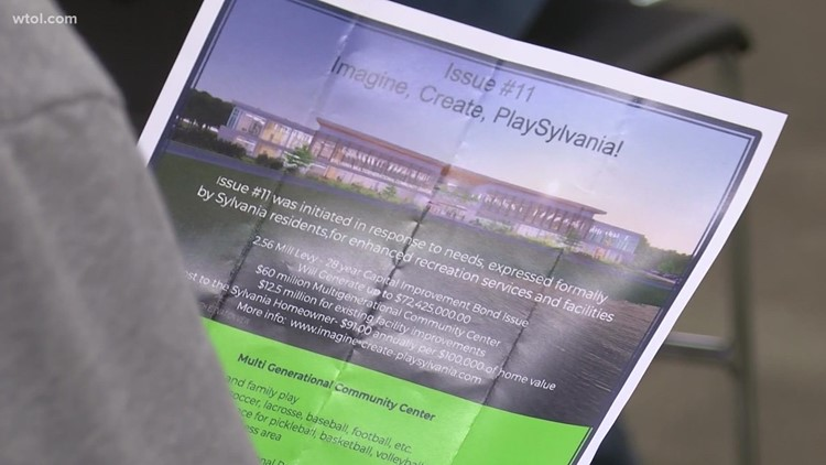 Proposed recreation center brings mixed reactions from Sylvania residents during public forum on Issue 11