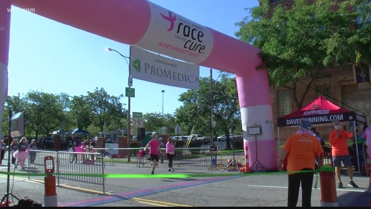 Walking, cheering, or dancing; everyone came out to this past weekend's Race for the Cure