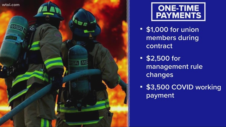 Toledo Fire looking at 4% pay increase for next 3 years