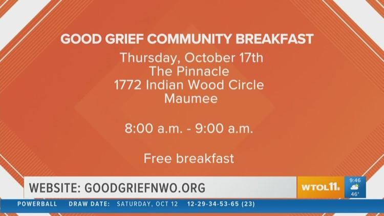 7th annual Good Grief Community Breakfast