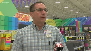 Stores seeing rush in back to school shopping