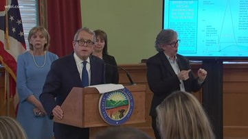 Ohio Gov. Mike DeWine orders all bars, restaurants to temporarily close for dine-in customers beginning at 9 p.m. Sunday