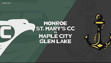 BBF: Monroe St. Mary's CC vs. Maple City Glen Lake