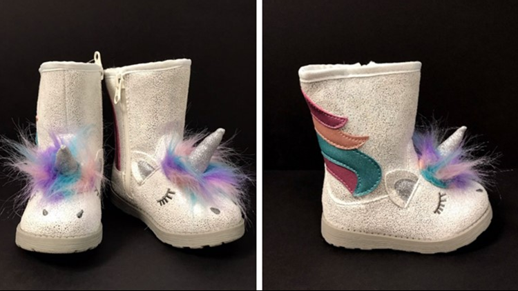 Target recalls unicorn boots due to choking hazard