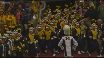 Michigan Marching Band hits the right notes with dedicated members