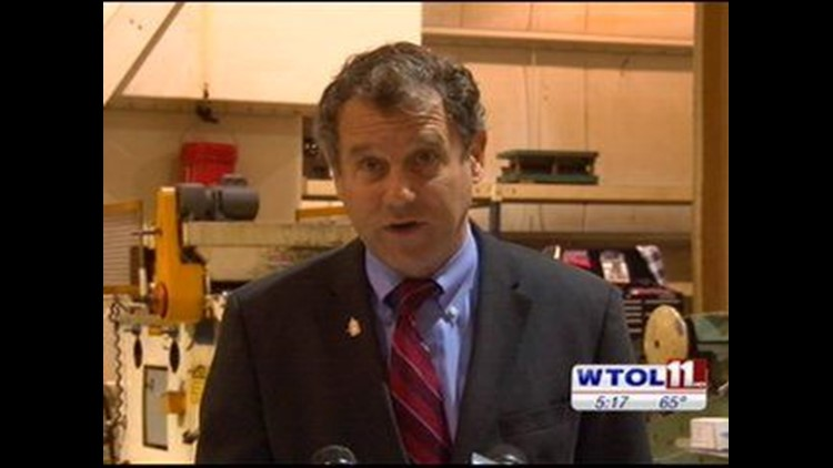 Sen. Sherrod Brown visits Toledo plant, urges House to pass jobs protection measure