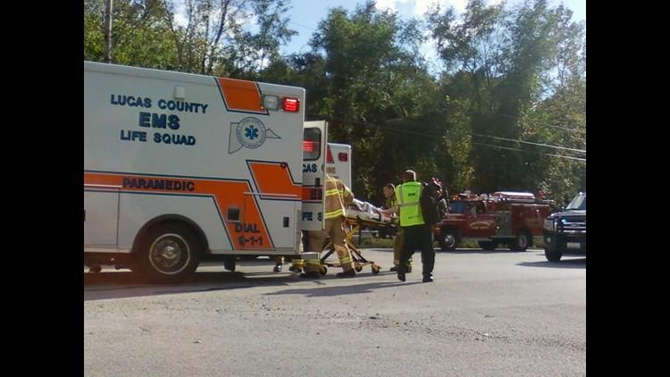 2 hurt in Whitehouse, OH crash