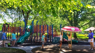 Playground at Side Cut River View opens for the summer
