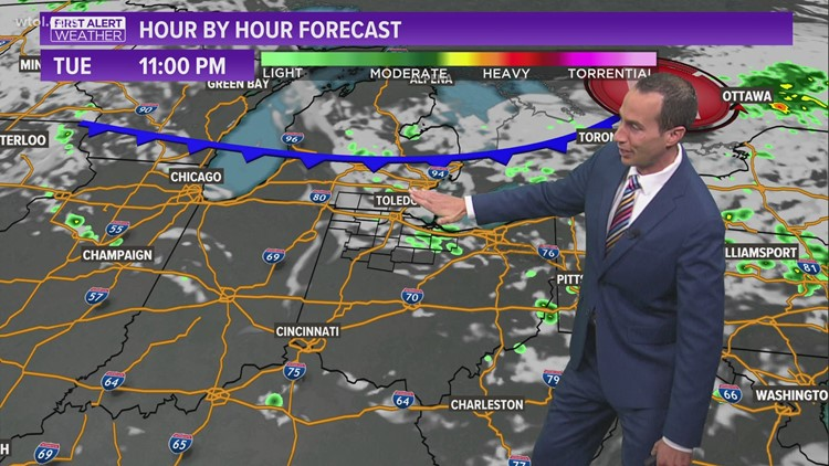 Cooler, less humid Wednesday | First Alert Forecast - July 20, 5:45 p.m.