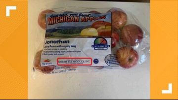Michigan apples recalled for possible Listeria contamination