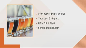 Get ready for the 2019 Winter Brewfest at Fifth Third Field