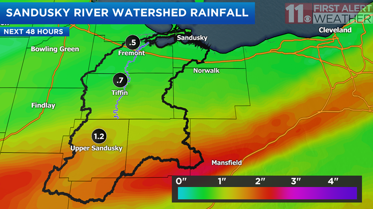 Soaking Showers & Flood Potential Ahead