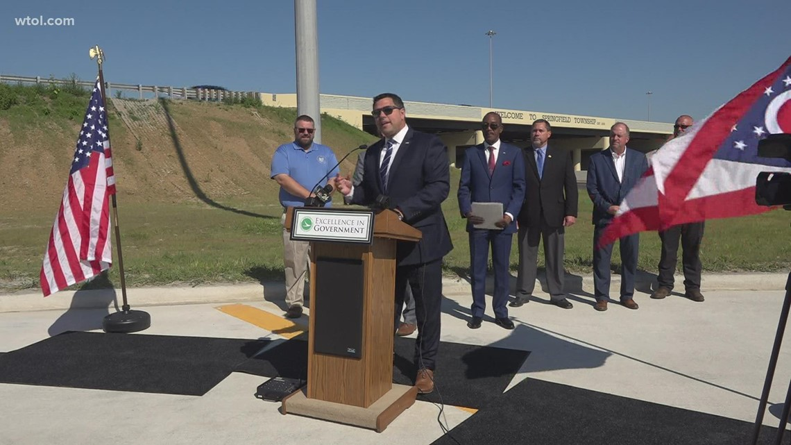 The long wait is almost over; you can use the dorr street interchange in just a few hours