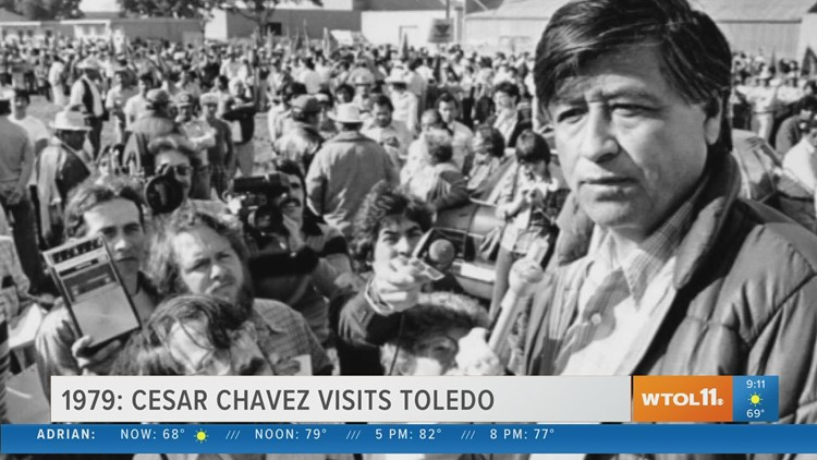 Cesar Chavez visits Toledo | Today in Toledo History Aug. 4
