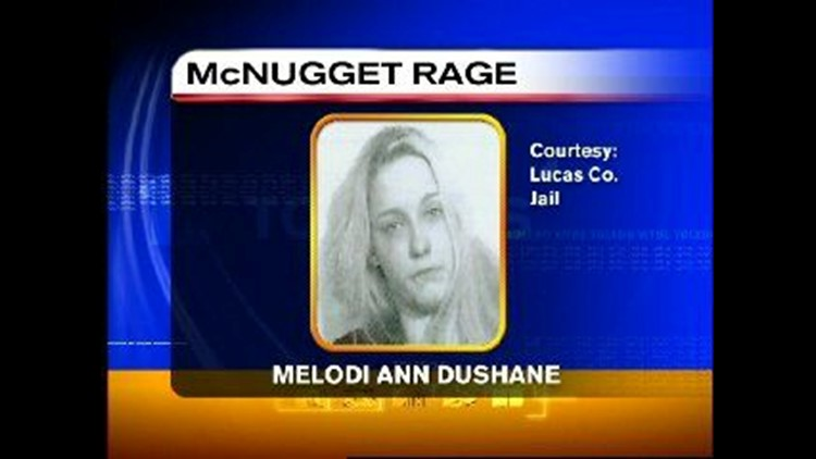 WATCH IT NOW--Toledo woman's McNugget rage caught on tape