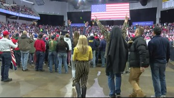 24 hours of President Trump in Toledo