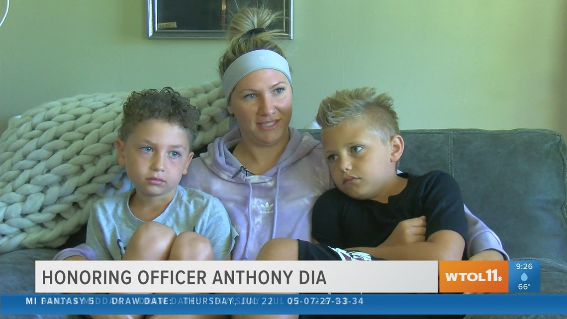 Honoring Officer Dia: Jayme Dia talks about what life is like now without her husband and best friend