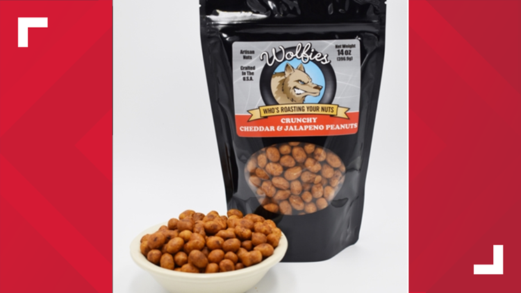 Wolfies Roasted Nut Co. issues voluntary recall of Cheddar & Jalapeno Artisan Nuts
