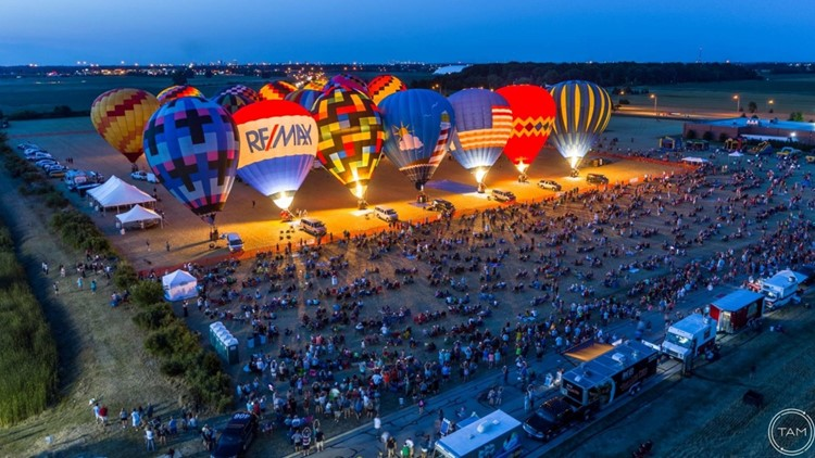 Ohio Chautauqua, Glass City Balloon Race canceled in Rossford amid COVID-19 pandemic