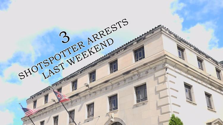 ShotSpotter arrests