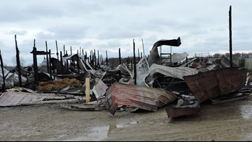Investigators: Cause of Thanksgiving fire at African Safari Wildlife Park ruled 'undetermined'