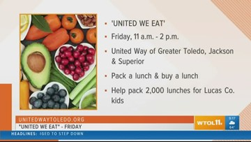 United Way of Greater Toledo wants to make sure kids have meals when school is out