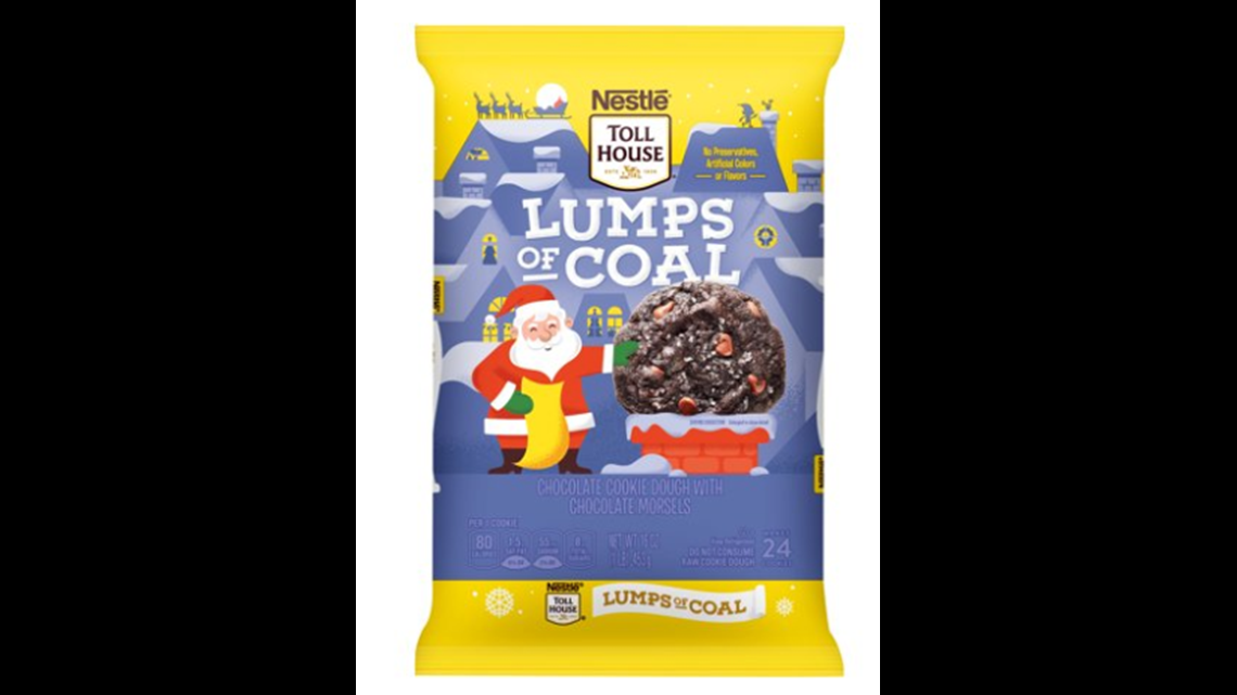 Land On The Naughty List This Year With Nestle Toll House Lump Of