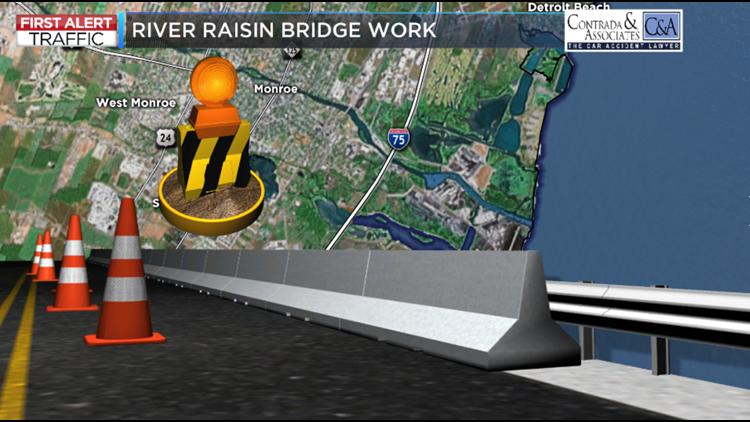 I-75 exits closed in Monroe for bridge work | wtol com
