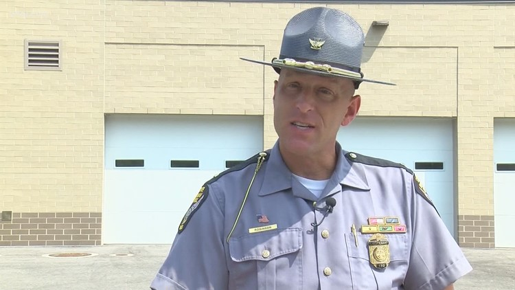 OSHP: Move over. State law being enforced as part of a 6-state effort this weekend