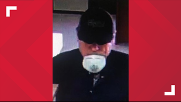 Police searching for suspect in Fulton County bank robbery