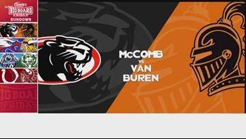 Charlie's Dodge Chrysler Jeep Ram Big Board Friday: McComb vs. Van Buren